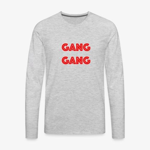GANG GANG - Men's Premium Long Sleeve T-Shirt