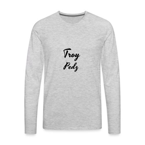 Name Logo - Men's Premium Long Sleeve T-Shirt