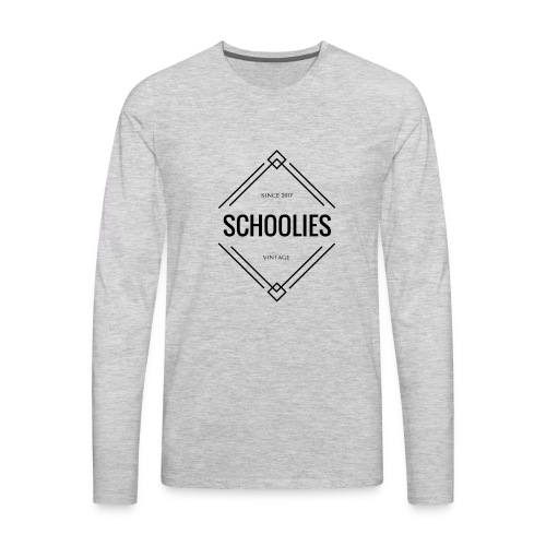 Schoolies Rye 17 swag - Men's Premium Long Sleeve T-Shirt