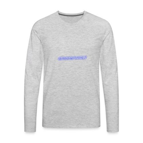 Cool 3D text merchandise - Men's Premium Long Sleeve T-Shirt