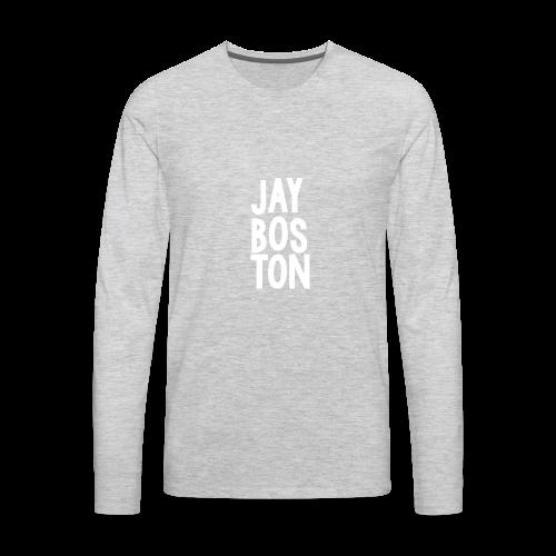 Jay Boston - Official Brand - Men's Premium Long Sleeve T-Shirt