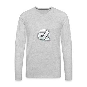 Die Logo - Men's Premium Long Sleeve T-Shirt