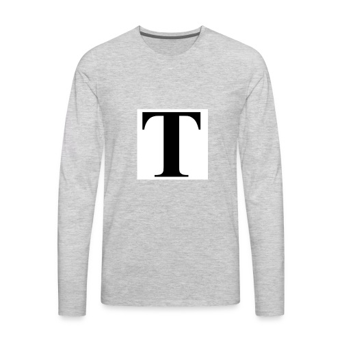 T stand for tavion - Men's Premium Long Sleeve T-Shirt