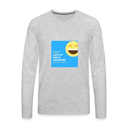 Funny wish - Men's Premium Long Sleeve T-Shirt