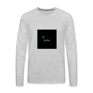 Echo Clan Offical Logo Merch - Men's Premium Long Sleeve T-Shirt