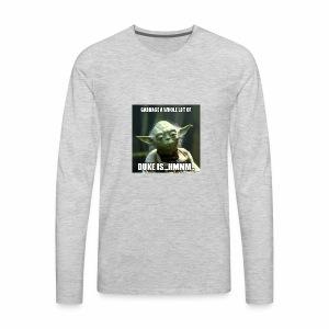 Duke is Garbage - Men's Premium Long Sleeve T-Shirt