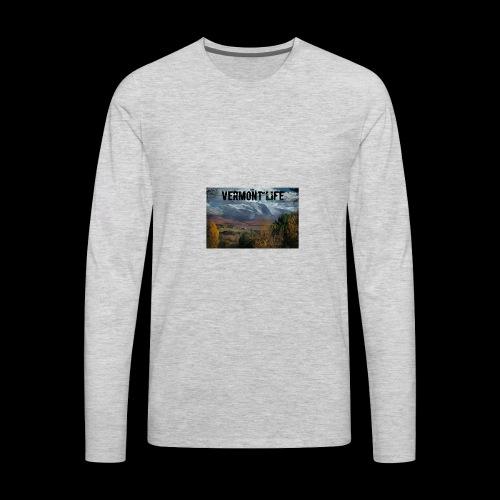 Vermont Life - Men's Premium Long Sleeve T-Shirt