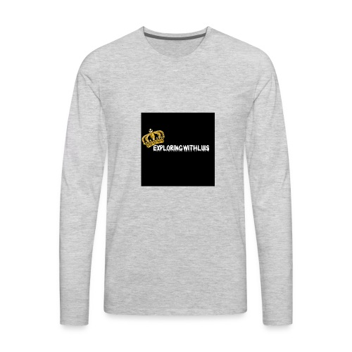 Exploring - Men's Premium Long Sleeve T-Shirt