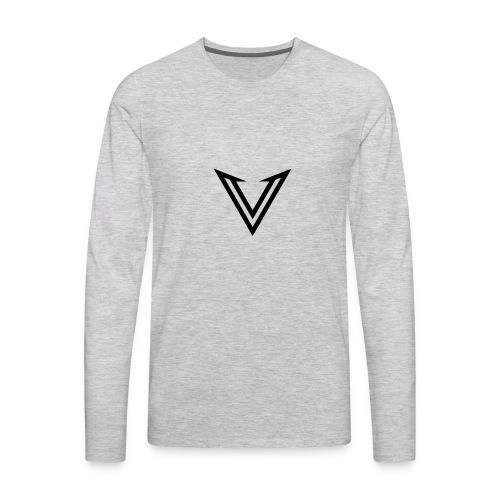 vexedlogo - Men's Premium Long Sleeve T-Shirt