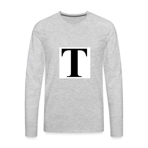 T stand for tavion - Men's Premium Long Sleeve T-Shirt