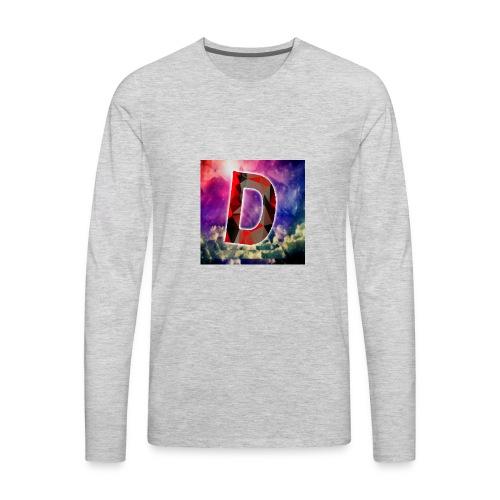 DamianStreams Logo design - Men's Premium Long Sleeve T-Shirt