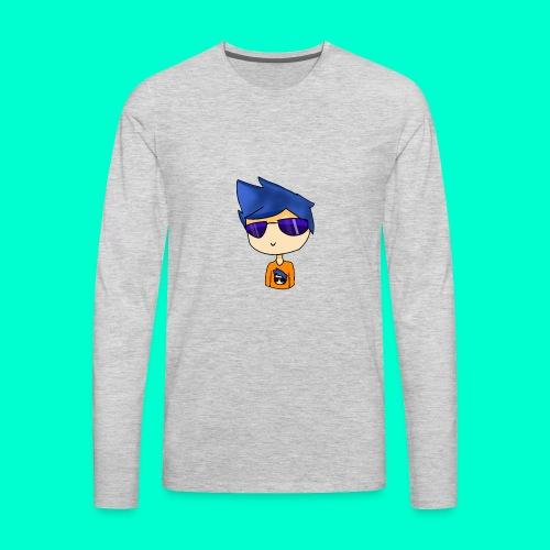 Cartoonish Avatar! - Men's Premium Long Sleeve T-Shirt