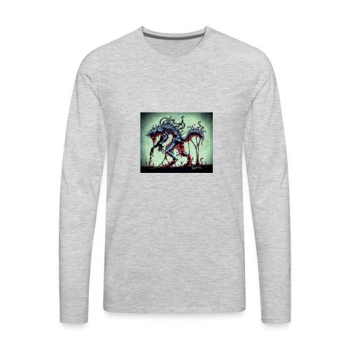 Demon wolf - Men's Premium Long Sleeve T-Shirt