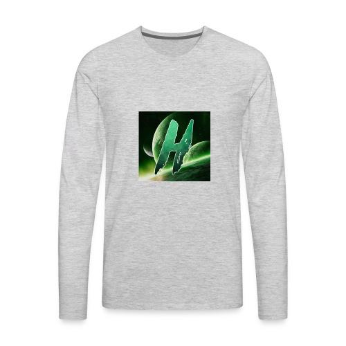 Hoax Logo - Men's Premium Long Sleeve T-Shirt
