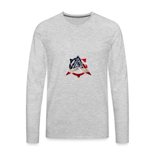 United States Flag - Men's Premium Long Sleeve T-Shirt