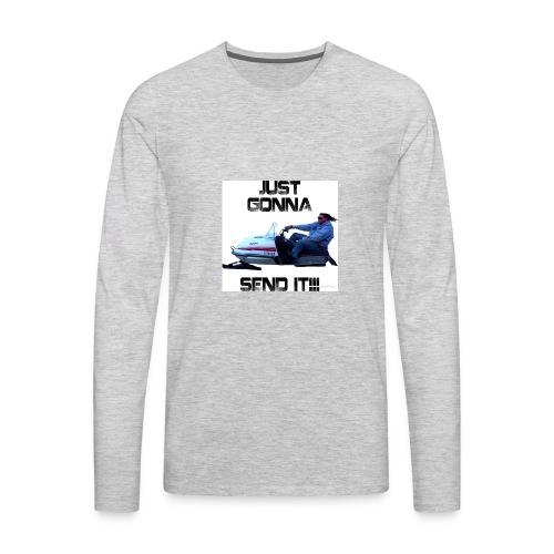send it - Men's Premium Long Sleeve T-Shirt