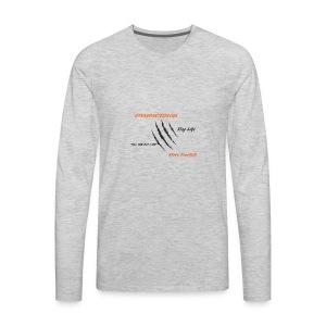 EthanBarteeVlogs - Men's Premium Long Sleeve T-Shirt