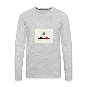 yeezy 350 vector s59 - Men's Premium Long Sleeve T-Shirt