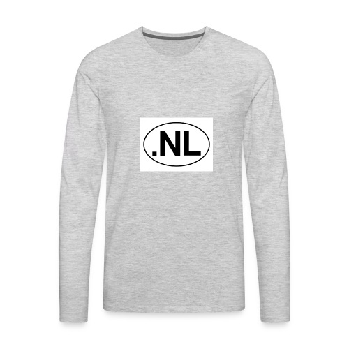 nick levey vlogs - Men's Premium Long Sleeve T-Shirt