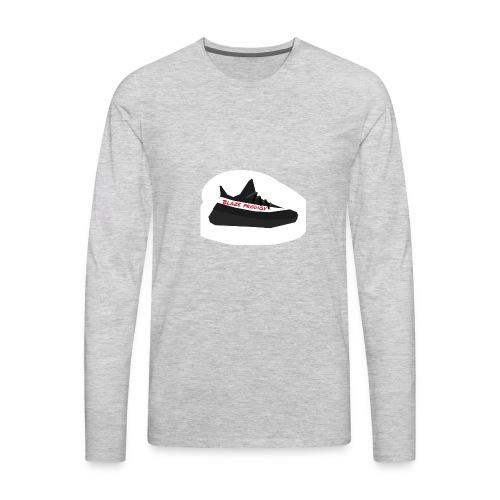 Blaze yezzy - Men's Premium Long Sleeve T-Shirt