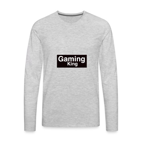 Gaming king - Men's Premium Long Sleeve T-Shirt