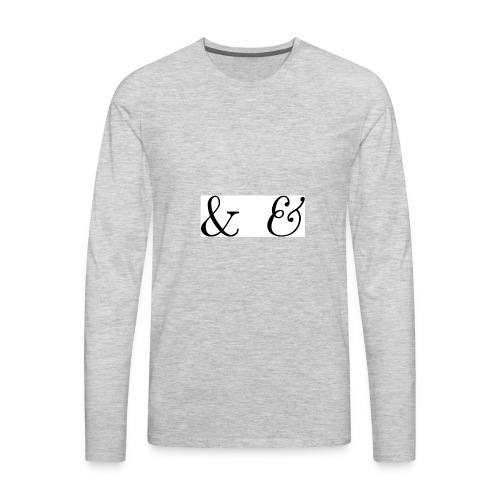 &E - Men's Premium Long Sleeve T-Shirt