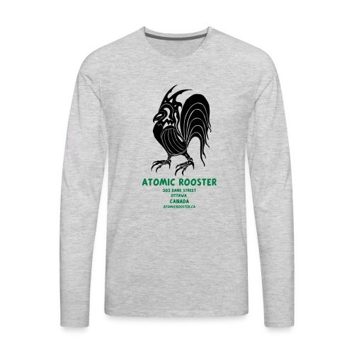 AtomicRooster Tshirt - Men's Premium Long Sleeve T-Shirt