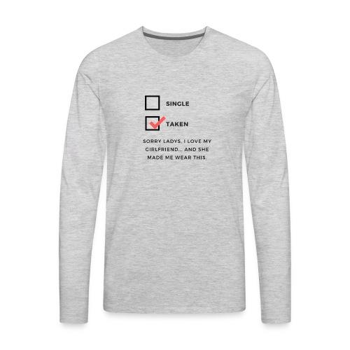 Taken1 - Men's Premium Long Sleeve T-Shirt