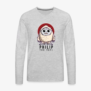 Philip the Yeti - Men's Premium Long Sleeve T-Shirt