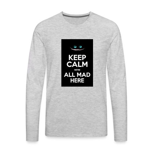 Words on shirt - Men's Premium Long Sleeve T-Shirt