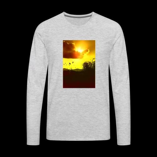 Sun Soaked Sky - Men's Premium Long Sleeve T-Shirt