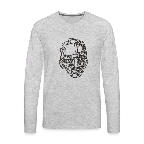 old boy - Men's Premium Long Sleeve T-Shirt