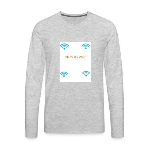 Cool Nation - Men's Premium Long Sleeve T-Shirt