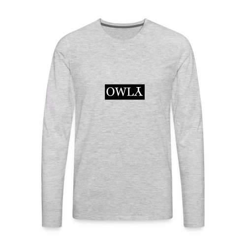OWLY - Men's Premium Long Sleeve T-Shirt