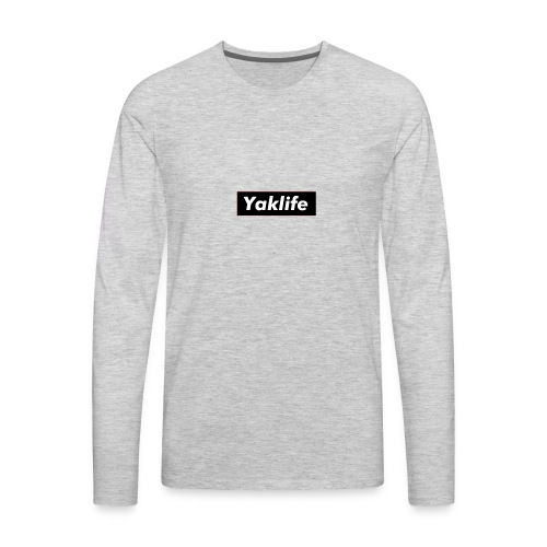 YAKLIFE'S MERCH - Men's Premium Long Sleeve T-Shirt