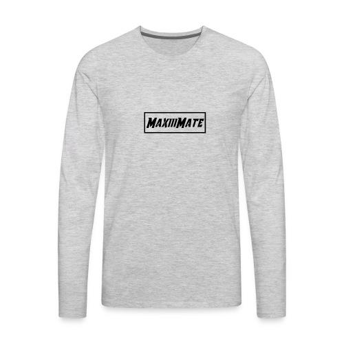 Maxiii Mate Official Shirt - Men's Premium Long Sleeve T-Shirt