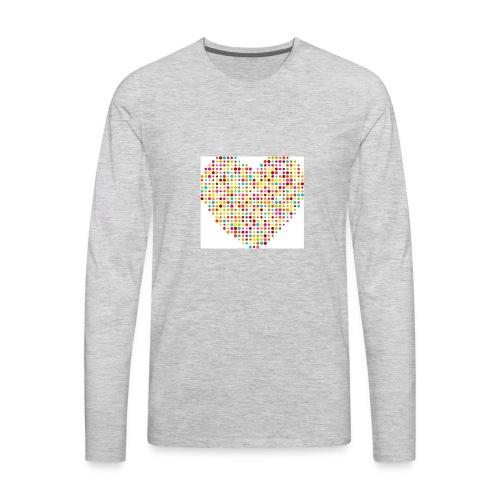 Baby heart. - Men's Premium Long Sleeve T-Shirt