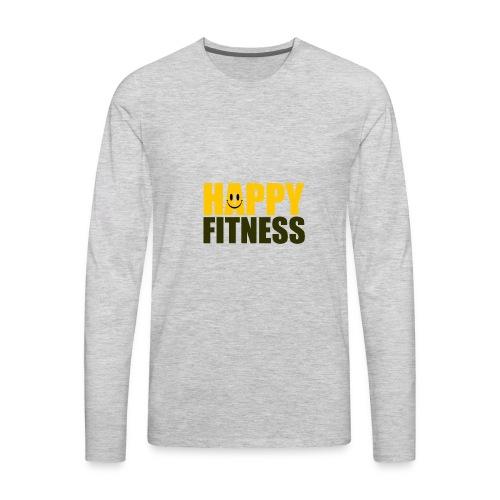 Happy Fitness - Men's Premium Long Sleeve T-Shirt