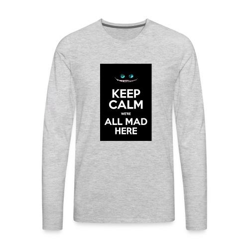 Words on shirt - Men's Premium Long Sleeve T-Shirt