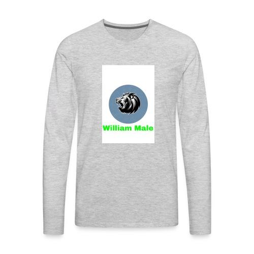 William Male - Men's Premium Long Sleeve T-Shirt