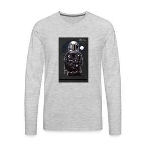 Elite astronaut men t-shirt - Men's Premium Long Sleeve T-Shirt