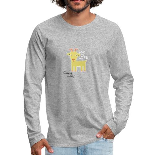 Limited Edition Galaxy Goats Merch - Men's Premium Long Sleeve T-Shirt