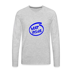 Beer Inside - Men's Premium Long Sleeve T-Shirt