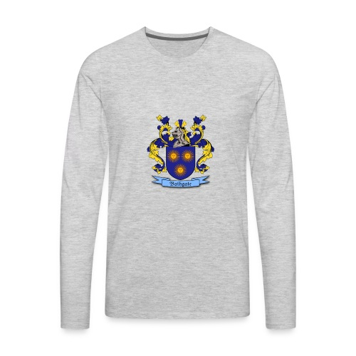 Bathgate Family Crest - Men's Premium Long Sleeve T-Shirt