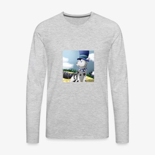 Zero Wolfie_Game - Men's Premium Long Sleeve T-Shirt