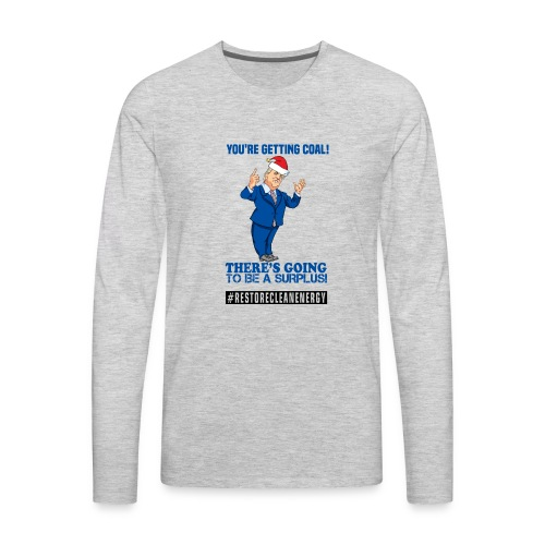 Trump Santa Shirt - Men's Premium Long Sleeve T-Shirt
