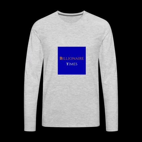 Billionaire Times - Men's Premium Long Sleeve T-Shirt
