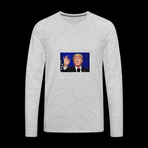 trumpo - Men's Premium Long Sleeve T-Shirt