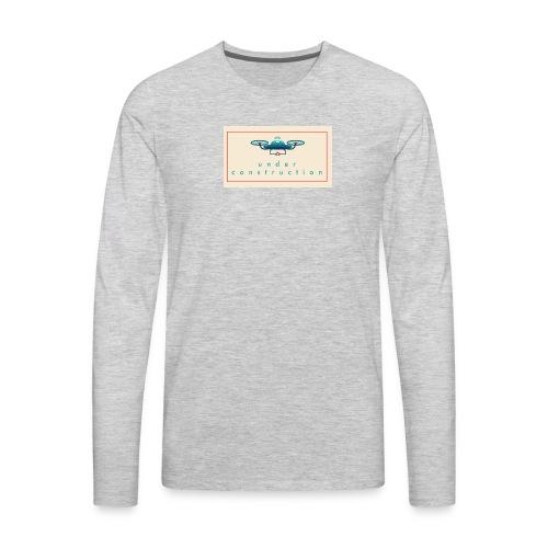 under construction - Men's Premium Long Sleeve T-Shirt