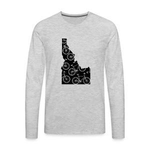 Idaho Bicycle - Men's Premium Long Sleeve T-Shirt
